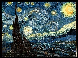 Night, The, Vincent Van Gogh, Starry